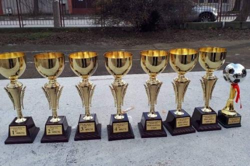 Коледен футболен турнир в Първомай