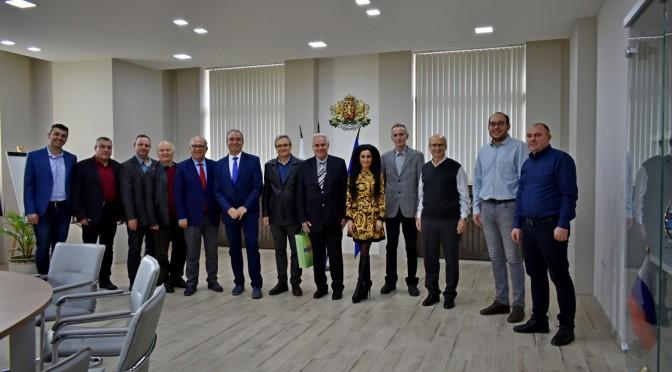 Кметът на Асеновград посрещна специални гости от Нилюфер, Турция