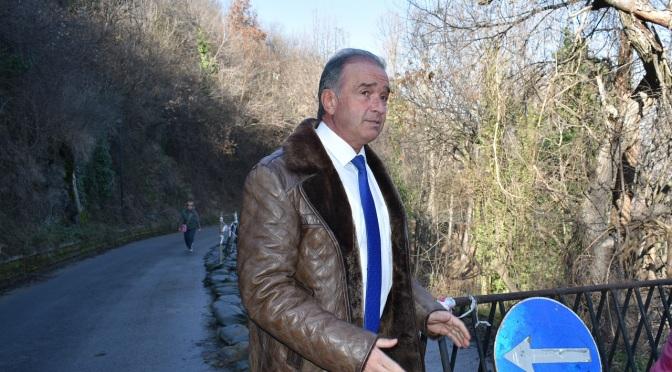 Христо Грудев извърши оглед на дейностите при свлачището при НПК Асенова крепост