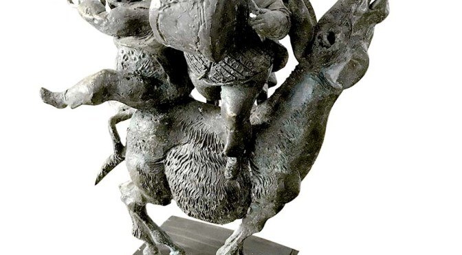 """Галерия """"Възраждане"""" представя скулптури на Димитър Рашков"""