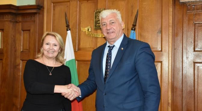 Кметът Здравко Димитров се срещна с посланика на Република Хърватия Ясна Огняновац