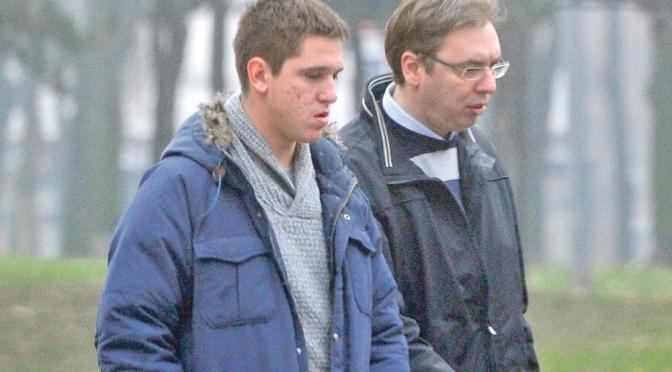Най-големият син на сръбския президент е заразен с коронавирус