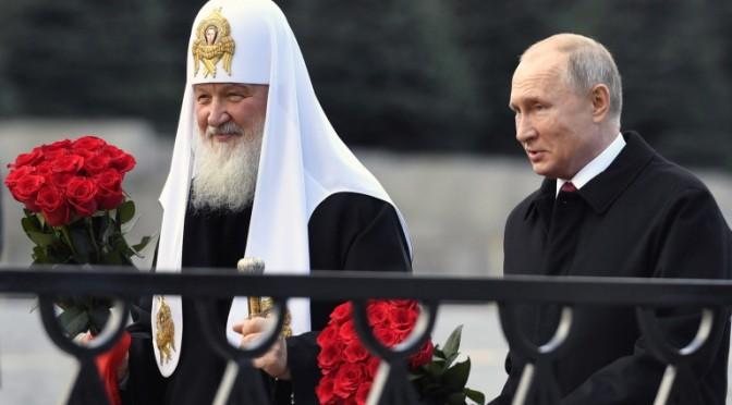 Руският Патриарх Кирил призова за богослужения без хора