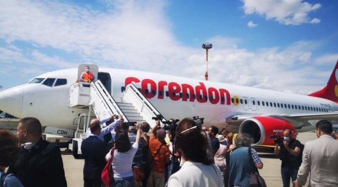 Corendon избра България за първия си чартър, 189 туристи от Амстердам пристигнаха в Бургас