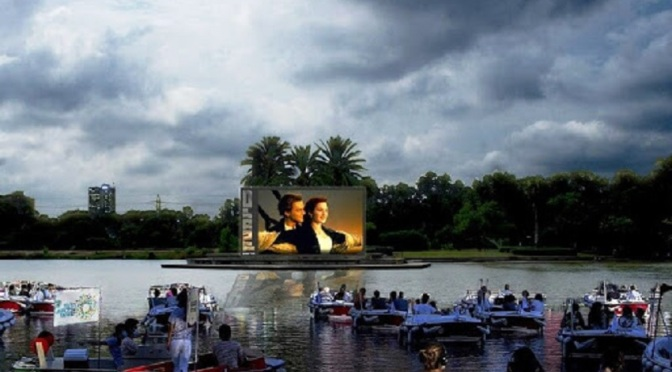 В Тел Авив се открива плаващо кино