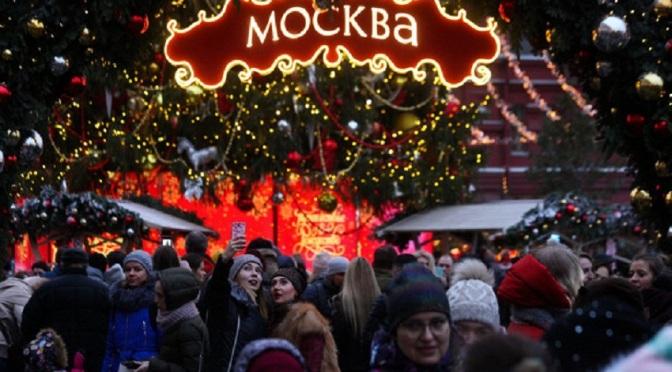 Обявени са най-добрите новогодишни градове в Русия