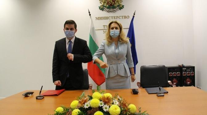Марияна Николова подписа меморандум за сътрудничество с албанския министър Гент Цакай