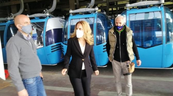 Марияна Николова инспектира места за настаняване и ски съоръжения в Банско