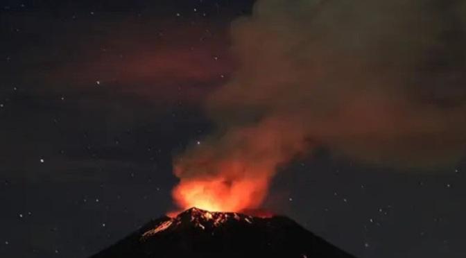 В Индонезия евакуираха 4,6 хиляди души заради вулкан