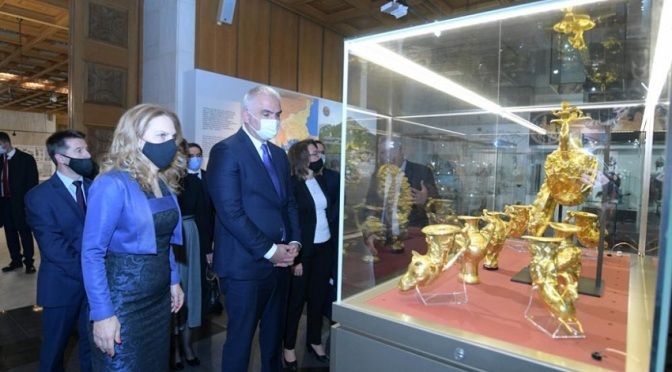 Марияна Николова и Мехмет Ерсой посетиха Националния исторически музей